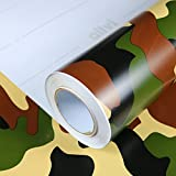 Allvi Wrapping Film Folie Camouflage Forest Car Wrapping Auto Folie