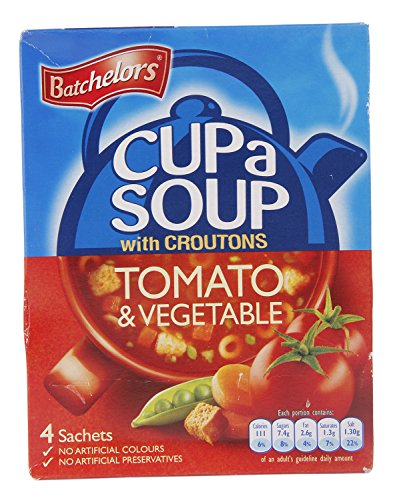 Batchelors Cup a Soup, Tomato Vegetables with Croutons, 104g