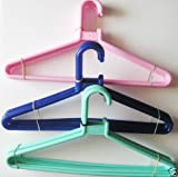 12 PC MELANIUM HANGERS,PANT,SHIRT,DRESS,...