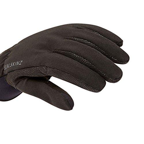 Sealskinz Womens Sea Leopard Glove Black