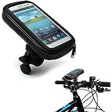 FUNDA SOPORTE PARA MANILLAR (BICICLETA, MOTO, QUAD…) IMPERMEABLE PARA SMARTPHONES, IPOD Y OTROS DISPOSITIVOS - TALLA M