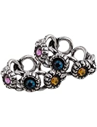Wish Karo 925 Pure Silver Toe Rings for Women