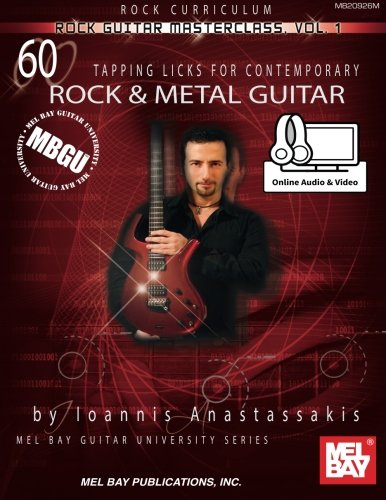Mbgu Rock Guitar Masterclass Vol, 1 (Mel Bay Guitar University)