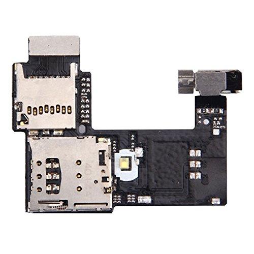 Cellphone Replacement Parts Handy-Ersatzteile IPartsBuy für Motorola Moto G (2nd Gen.) (Single SIM Version) SIM Card Socket + SD Card Sockel Ersatzteile