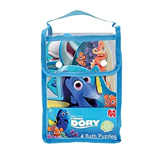 Disney Finding Dory Bath Puzzle Rompecabezas de baño Multicolor - Juegos, Juguetes y Pegatinas de baño (Rompecabezas de baño, Disney Pixar Finding Dori, Preescolar, 3 año(s), Niño/niña, Multicolor)