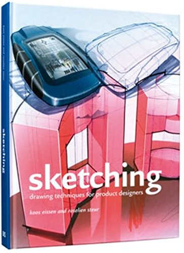 Sketching: Drawing Techniques for Product Designers por Koos Eissen