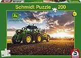 Schmidt Spiele  Traktor 6150R mit Güllefass, 200 Teile