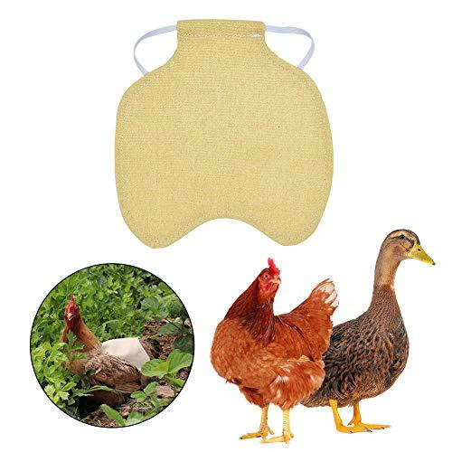 Wing Kostüm Chicken - smileyshy Henne Schürze, Henne Sattelschürze Feder Rückenschutz einzelner Schultergurt Standard Huhn Jacke