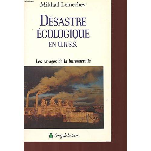 Désastre écologique en URSS