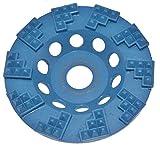 Blue PKD 125 mm Diamant Schleiftopf, 10 Block Segmente, Beton, Estrich, Farbe, Fliesenkleber, Teppichreste