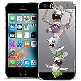 Caseink Coque pour Apple iPhone 5/5s/SE The Lapins Crétins [Collection Officielle]...
