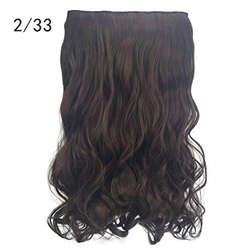 Rifuli® Perrücke 1 stück 5 clip in haarverlängerungen lockige hübsche frau mädchen lockige perücke haarwelle rolle 90er jahre outfit damen