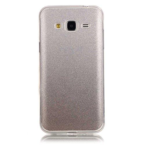 Meet de Slim de Protection Téléphone Case pour Apple iphone 5S / iphone SE, Apple iphone 5S / iphone SE Bumper Case Coque, (changement graduel) jaune Apple iphone 5S / iphone SE Slim TPU Transparent S blanc