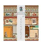 Ursus 703000285 - Premium Glitter Scrapbook paper Photography, ca. 30,5 x 30,5 cm, 5 Blatt, Motiv 285
