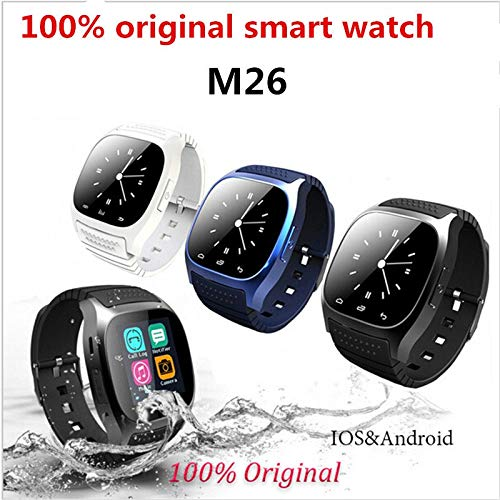 UNIQUS Bluetooth Smart Watch M26 PK DZ09 Smartwatch Dial SMS Pedometer for samsung xiaomi Alcatel zte lenovo Android phone watch VS Y1
