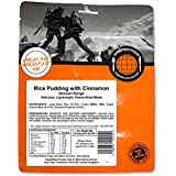Expedition Foods Rice Pudding with Cinnamon Dessert Range Freeze Dried Food - Orange