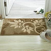 Tappeto foyer ingresso/ taglio di capelli fiore stuoie/Zerbini/Pad viso di vello/Soggiorno camera da letto stuoie-A (Cotone Tessuto Piano Tappeto)
