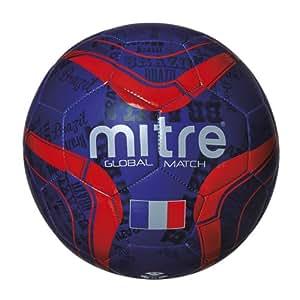 Mitre Global Match Ballon de foot France Taille 5