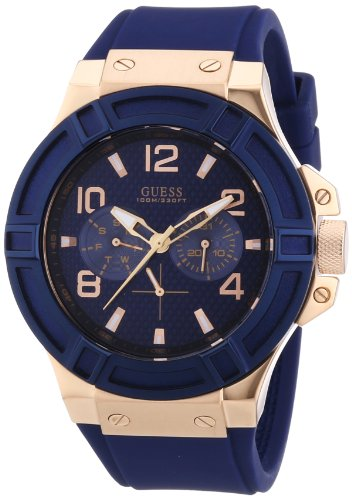 guess-w0247g3-rigor-wristwatch-mens-silicone-band-colour-blue