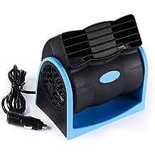Ventilador Automático de 12V, Mini Ventilador de Refrigeración, Aire Acondicionado Portátil para el Carro