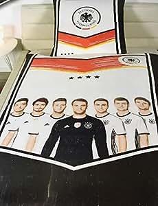 DFB Bettwäsche Die Mannschaft Deutschland Nationalmannschaft Germany EURO 2016 ****4 Sterne