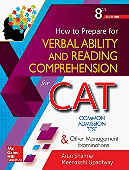 How to Prepare for Verbal Ability and Reading Comprehension for the CAT by [Sharma, Arun, Upadhyay, Meenakshi]