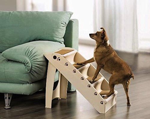 UPP® Hundetreppe Deluxe/ Hunderampe Katzentreppe Tiertreppe Steighilfe Stufen
