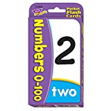 Children's Numbers 0-100 Educational Numeracy Flash Cards