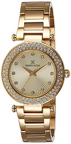 Daniel Klein Analog Gold Dial Women's Watch - DK10921-2 image
