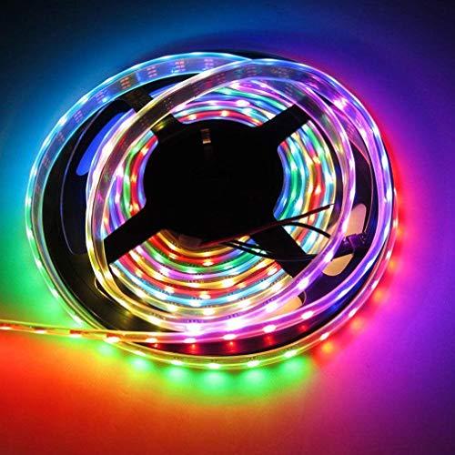 Prevently Living Colors Iris, LED Stripes, Stripe, Lichterkette, Band, Streifen, LED Leiste 5M 150LED 2811 IC 5050 Traumfarbe RGB Wasserdichtes Festzelt LED-Streifen-Licht für Weihnachten (Living Color-band)
