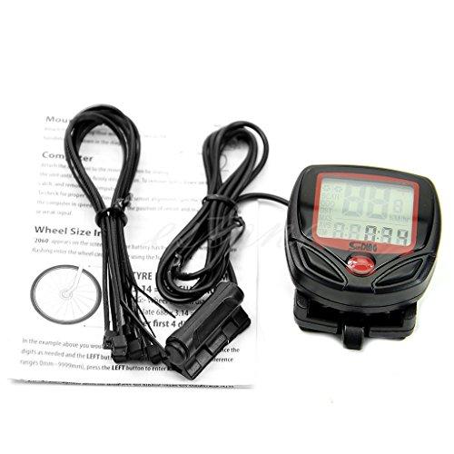 Kalttoy Impermeabile Digitale - Ordenador LCD Bicicletta Ciclo Tachimetro Odometro