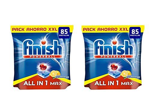 Alkimist Home Finish Todo 1 MAX Limón Pastillas Lavavajillas