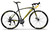 PEDALOOP Alloy Road Bike - (BlackYellow)