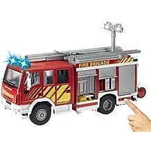 Dickie - Camión bomberos Iveco, color rojo ( 3444537)