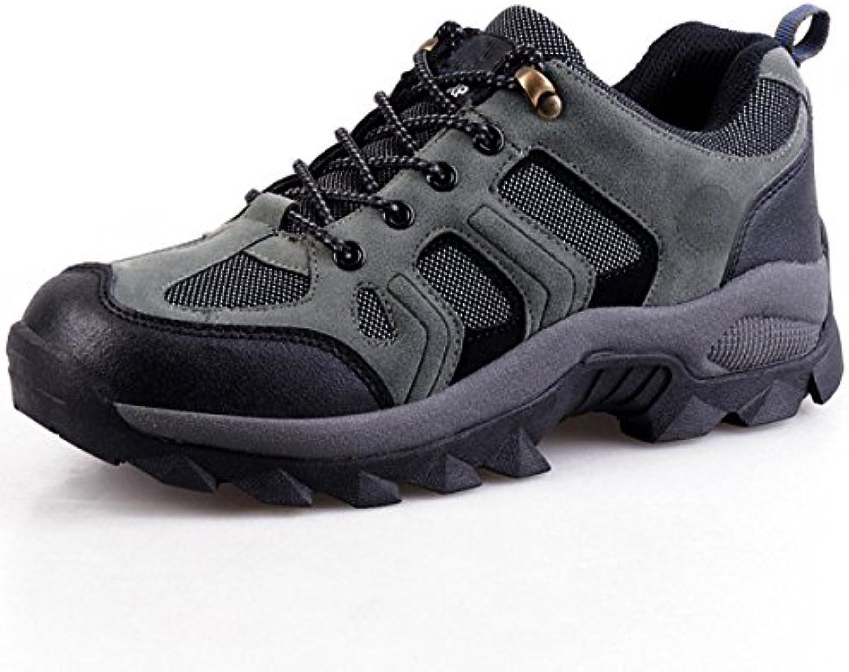 Hombres Respirable Cómodo Zapatos Para Caminar Al Aire Libre De Varios Tamaños Multicolor,Blue-42