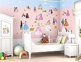 Wandtattoo Wandsticker Kinderzimmer Prinzessin Sticker Aufkleber Wandtattoo Wan