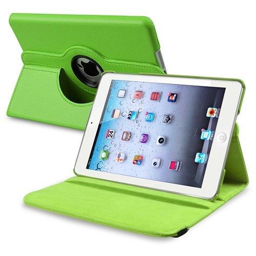 Bingsale PU Leder Schutzhülle Hülle Tasche Lederhülle für iPad mini 3/iPad mini 2 Mit 360-Grad drehbar passgenau