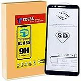 [Sponsored]Total Care One Plus 5T Tempered Glass | 5D Full Screen Full Glue Screen Protector Guard | Anti Fingerprint | Perfect Clarity | [Midnight Black]