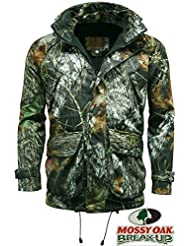 stormkloth Veste Recon Mossy Oak Camouflage Imperméable, coupe-vent & respirant chasse Schi manger