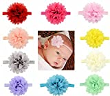 Rzctukltd 10PCS Baby Girls Hairband Bow Soft Head - Best Reviews Guide