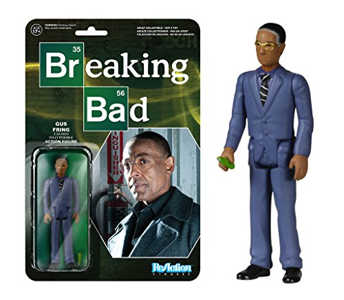 Breaking Bad Gustavo Fring ReAction 3 3/4-Inch Retro Action Figure by Breaking Bad