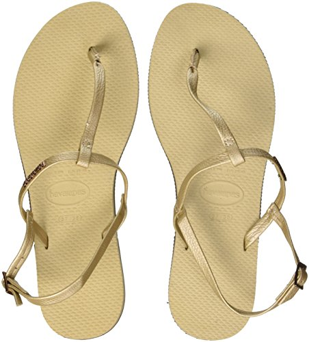 Havaianas You Metallic, Sandales Bout Ouvert Femm