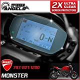 Speedo-Angels Ducati Monster 797/821/1200 2014> Protector de pantalla Dashboard / Instrument Cluster - Ultra Clear