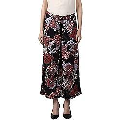 Park Avenue Womens Flared Fit Pants (PWTW00755-F5_Medium Fawn_76)