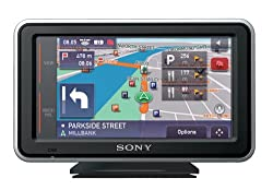 Sony nv-u53g Navigation Einheit mit voller Karten der UK, Irland & Nordirland Frankreich (Down to Paris)
