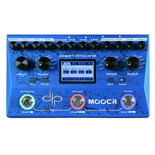 MOOER OCEAN MACHINE GUITARRA PEDAL