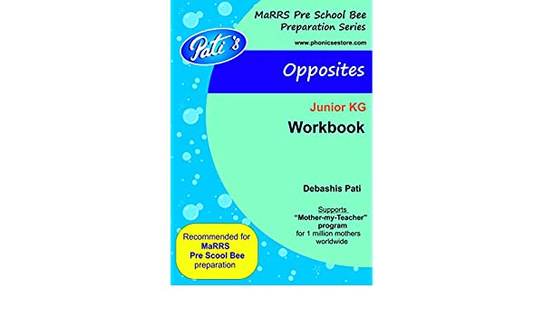 Amazon.in: Buy Opposites - Prepare for MaRRS Pre School Bee ...