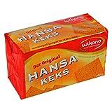 Hansa Keks Wikana | INKL DDR Geschenkkarte | DDR Produkte| Ideal für jedes DDR Geschenkset | DDR Traditionsprodukt und Ossi Kultprodukt | DDR Artikel