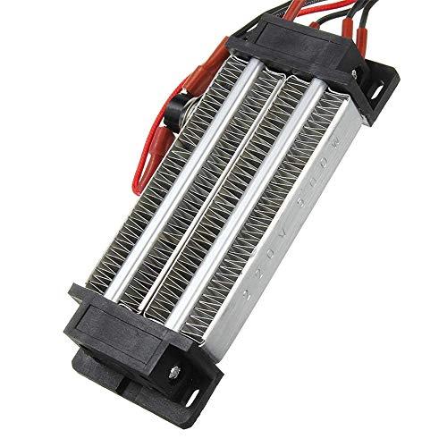 HJJGRASS Calentador eléctrico termostático cerámica