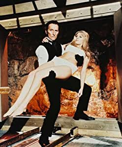 """PETER CUSHING AS BARON FRANKENSTEIN FROM FRANKENSTEIN CREATED WOMAN #2 - COLOUR Movie Photo - LARGE wall POSTER Size Print - SIZE 25x20"""" (60x50cm)"""